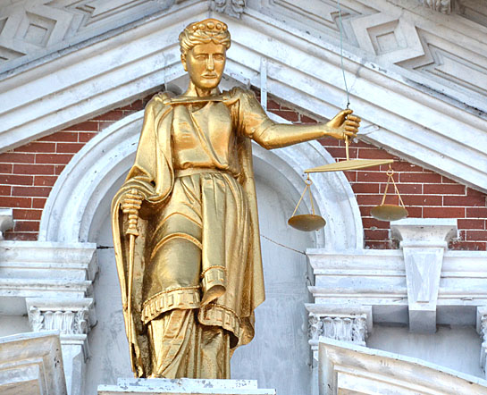 Courthouse statue 5-2012