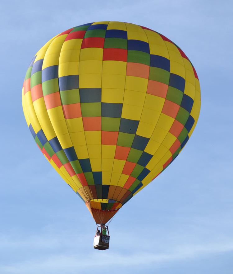 Hot air balloons are coming to the Van Wert County Fair this year. (VW independent file photo)