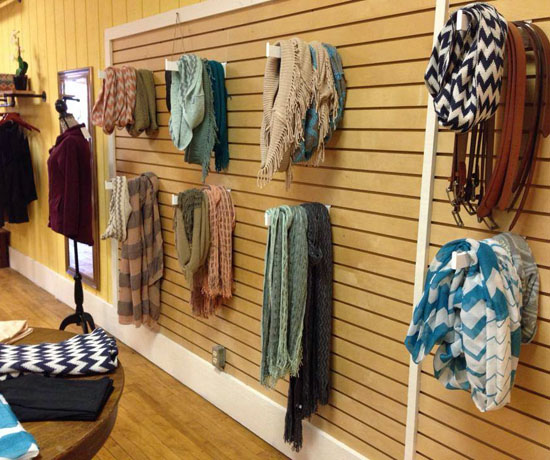 The interior of the MOD Boutique features a number of trendy and one-of-a-kind fashion items. (Cindy Wood/Van Wert independent)