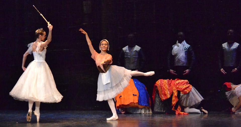 Cinderella ballet at NPAC 1-21-14