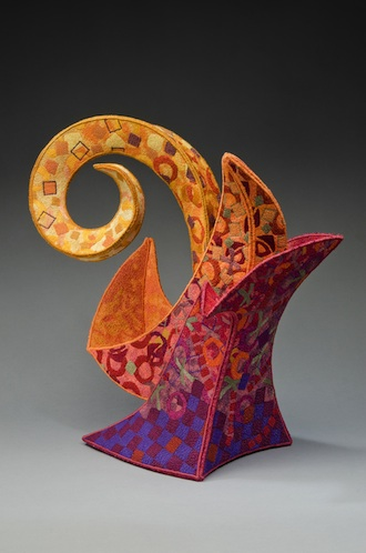 """Emerging from Retirement"", fabric sculpture by Judy Kahle of Wauseon, is one of the artworks scheduled for display in ""The Best of 2014"" exhibit opening July 12. (Photo submitted.)"