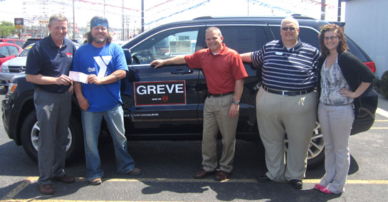 greve gives to aqua center the vw independent van wert independent