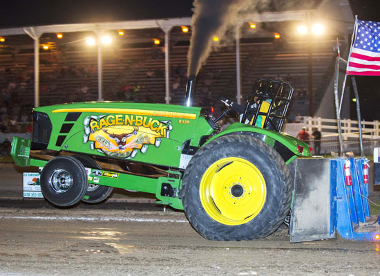 The Michindoh Truck and Tractor Pull held Friday night in front of the grandstand, was again a popular event. (Jan Dunlap/Van Wert independent)