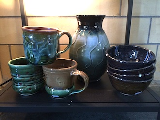 New pottery by Brandon Knott is now available in the Wassenberg Art Center's gift gallery. The art center gift gallery features work in all price ranges from many local and regional artists year round. (Photo submitted.)