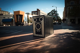 A working, life-size brownie camera will be one of the stars at this years Summer Art Camp at the Wassenberg Art Center. The camera was designed by Stephen Tackis, a lecturer at Ohio State University. (Photo submitted.)