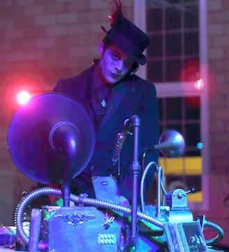 "Tickets are now on sale for the Wassenberg Art Center annual Halloween event, ""Dr. Wassenstein's Freak Haus"". Joseph C.R. Vourteque returns as the featured DJ. (Photo by William Hawkins.)"
