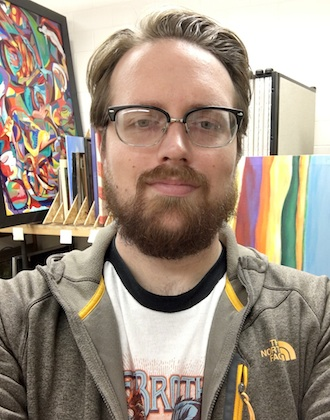Joe Balyeat has been selected to be the Facility & Grounds Attendant at the Wassenberg Art Center. (Photo submitted.)