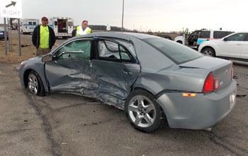 This 2009 Chevrolet Malibu Was Driven By Linda Page Of Payne Who Killed In