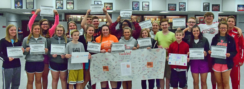 Stand Against Racism at VWMS 4-29-16