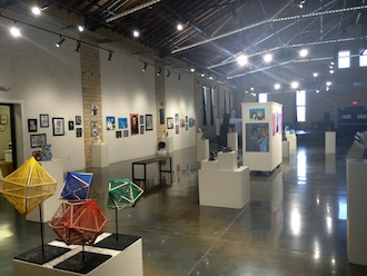 The High School Art Invitational is ready for viewing.  (Photo submitted.)