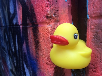 Duck sales will begin soon for Town Creek Live's Second Annual Duck Derpy, scheduled for July 9 at Central Avenue and Wassenberg Art Center. (Photo submitted.)