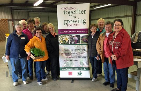 Master Gardeners plant sale 4-30-16
