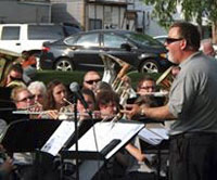 The Van Wert Area Community Concert Band will host the St. Marys Community Band, under the direction of Dane Newlove, for a concert in July in Fountain Park. (photo submitted)
