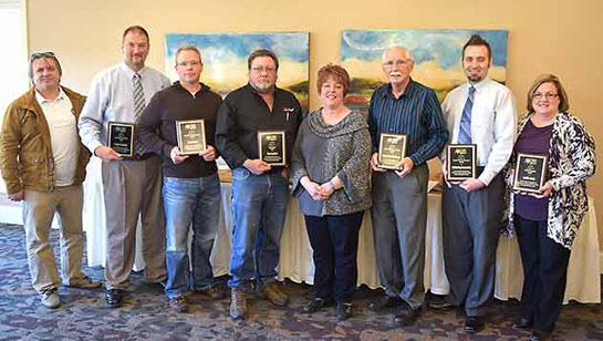 Shown are Small Business Awards winners from 2015. (Chamber photo)