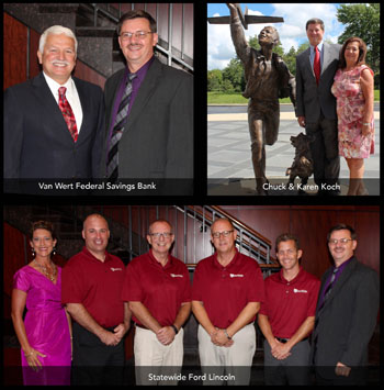Season Sponsors for the Niswonger Performing Arts Center of Northwest Ohio. (photos submitted)