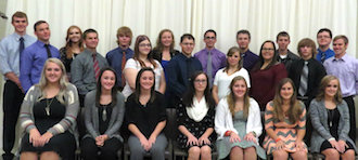 Newly inducted members of the Vantage 2016-2017 National Technical Honor Society. (Photo submitted.)