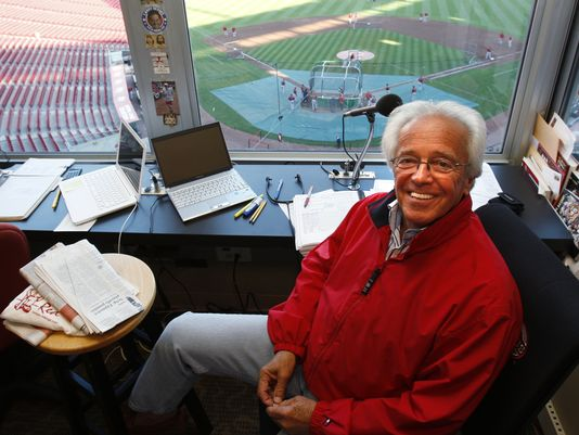 Marty Brenneman, the Voice of the Reds, is coming to the Niswonger in early November. (photo submitted)