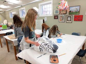 Wassenberg Art Center members help support programs like ArtReach, a flexible after-school program for ages 7–16. (Photo submitted.)