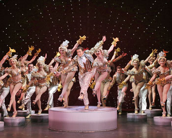 Song and dance is the name of the game when 42nd Street comes to the Niswonger Performing Arts Center stage early next year. (photo submitted)