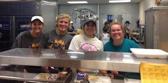 A special thank you to everyone who came to eat at the Lancer Way Breakfast Day.  We were able to raise $625 to put into our benefit council funds for student in our district who are going through hard times.  These funds allow us to help families in our school community.  We want to especially thank Van Wert Federal Bank and 1st Federal Bank for donating to our breakfast. (Photo submitted.)
