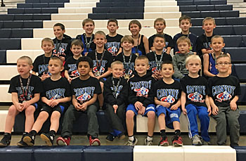 Shown are members of the Convoy Wrestling Club. (photo submitted)