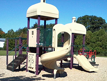 A portion of the playground equipment at Calvary Preschool in Van Wert. (photo submitted)