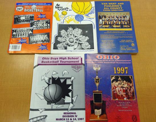 1996-97 Lincolnview boys' basketball photos