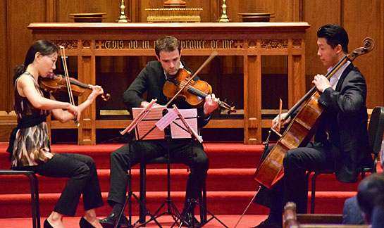 DSO String Trio concert 3-26-17