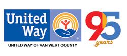 United Way 95th anniversary logo 3-2017
