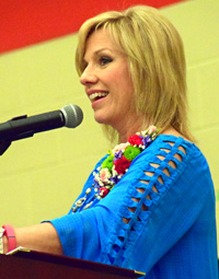 R.K. Thompson speaker Sarah Evans Tackett provides tips for a successful life.