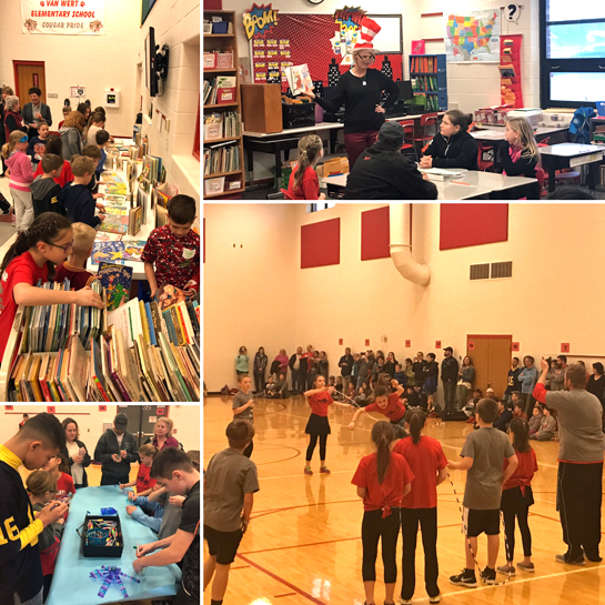 VWES Family Night event 4-2017