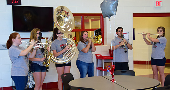 Ken Amstutz open house 5-18-17-band