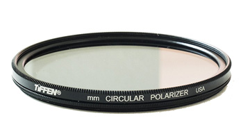 A typical polarizing filter.