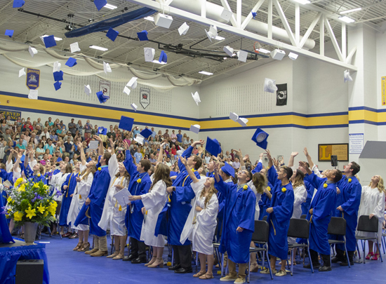 VW, Lincolnview seniors receive diplomas « The VW independent